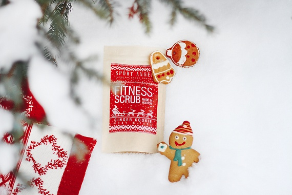 Fitness Scrub Ginger Cookie